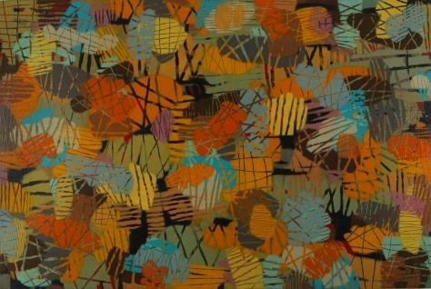 """Acrylic on Canvas, 48""""x72"""""""